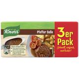 Knorr Sauce Cube, Pepper Sauce Mix, 3 x 0.8 oz.