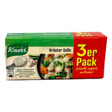 "Knorr Sauce Cube, ""Kräuter"" Assorted Herb Mix,  3 x 0.8 oz."