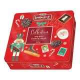 """Lambertz """"Sweet Christmas"""" Assorted Seasonal Cookies in Gift Tin, 17.6 oz"""