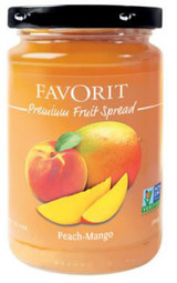 Favorit Swiss Preserve Peach Mango 12.3