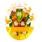 Niederegger Dark and Milk Chocolate Egg Pralines with Marzipan 5.3 oz
