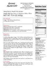 Kathi German Marble Pound Cake with Cocoa Glaze Baking Mix 15.9 oz