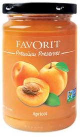 Favorit Swiss Preserve Apricot