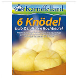 Kartoffelland 6 Potato Dumplings Half and Half Boil in Bag