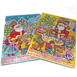 German Chocolate-Filled Advent Calender
