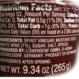 Lowensenf Whole Grain Mustard (Nutrition Facts)