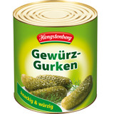 Hengstenberg Deli Gherkins Bulk, Large Tin 55-60 pc.
