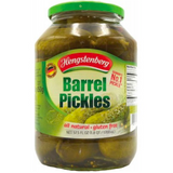 Hengstenberg Knax Barrel Pickles in Jar - 57.5 oz.