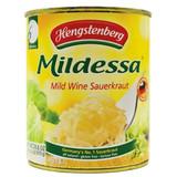 Hengstenberg Mildessa Bavarian Wine Sauerkraut in Tin