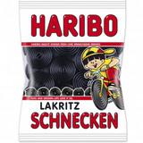 """Haribo """"Schnecken"""" Licorice Wheels in Bag"""