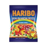 Haribo Mini Rainbow Frogs Gummies in Bag