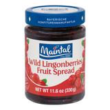 Maintal Bavarian Wild Lingonberry Fruit Spread 11.6 oz