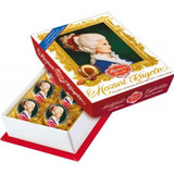 Reber Mozart Kugel in Constanze Mozart Portrait Box