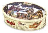 Asbach Assorted Brandy Chocolates in Oval Christmas Tin