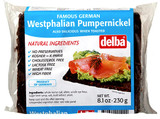 Delba Dark (Westphalian) Pumpernickel Bread 8.1 oz