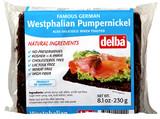 Delba Dark (Westphalian) Pumpernickel Bread 8.1 oz