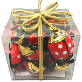 Riegelein Chocolate Lady Bug Gift Box 10ct