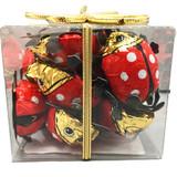 "Riegelein Milk Chocolate ""Good Luck Beetles"" in Gift Box 10ct, 3.5 oz"
