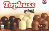 Topkuss Minis Chocolate Kisses in three varieties