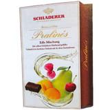 Schladerer Dark Chocolate Assorted Fruit Brandy Pralines in Gift Box 9 oz.