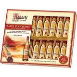 Asbach Dark Chocolate Bottles with Brandy 20 pieces 8.8 oz in Gift Box
