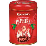 Bende Hungarian Hot Paprika in Tin