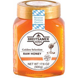 Breitsamer Golden Selection Raw Honey in Jar 17.6 oz