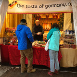 The Taste of Germany at the Downtown Holiday Market in Washington DC