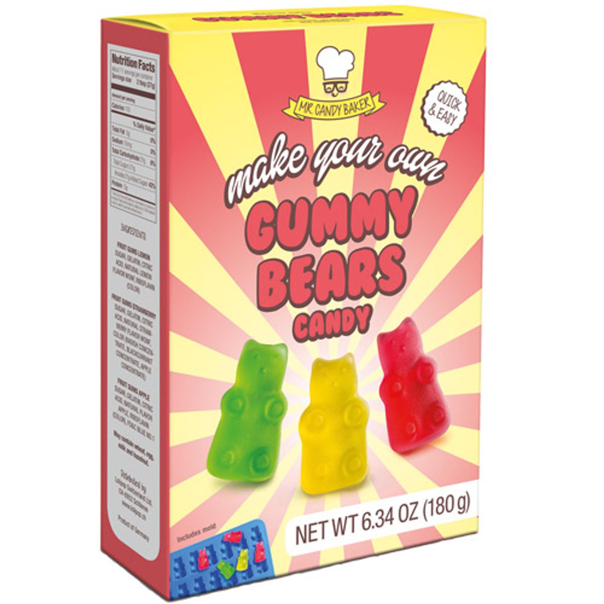 Mr Candy Baker Make You own Gummy Bears Kit 180 g