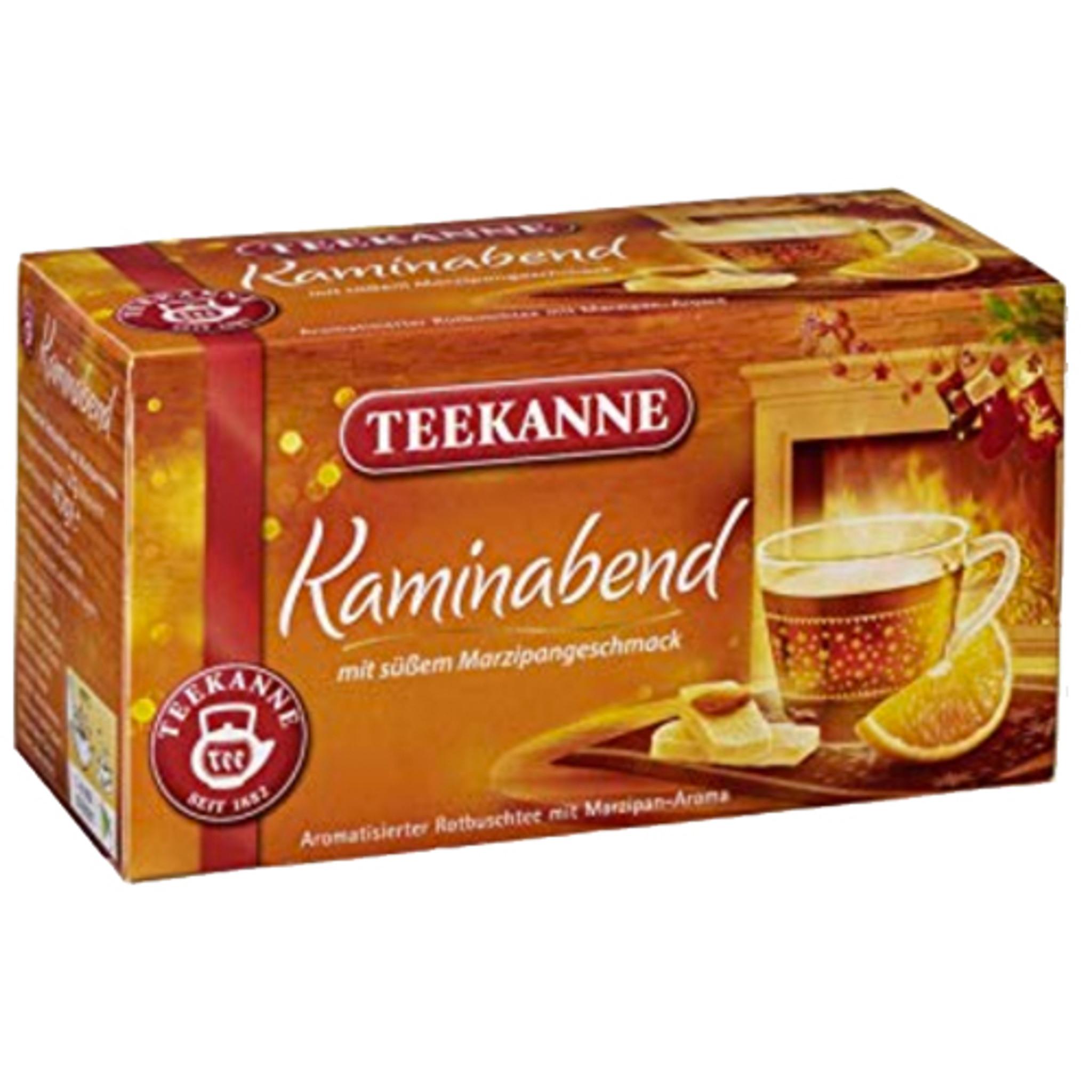 Teekanne Rooibos Tea Mix With Orange Cinnamon Marzipan In Bags 1 0 Oz