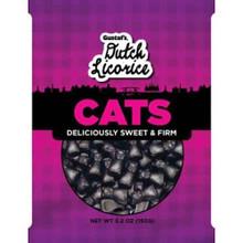 Gustafs Licorice Cats 5.2 oz