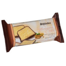 Schluender Marzipan Cake Chocolate Covered 14 oz