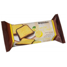 Schluender Lemon Cake Chocolate Covered 14 oz