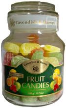 Cavendish and Harvey Fruit Candy Jars 10.5 oz