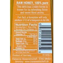 Bee Buddy German Linden Blossom Honey 8.8 oz in squeeze bottle