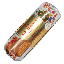 Niederegger Milk Chocolate Covered Marzipan Christmas Loaf with Spekulatius Spices 4.4 oz