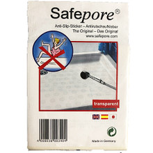 Safepore Anti-Slip Stickers for Bathtubs and Tiles - 10 Stickers - Small