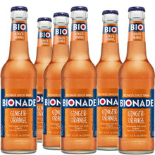 Bionade Orange-Ginger Organic Fermented Soda-12pack case