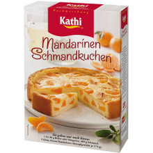 Kathi German Tangerine Cream Cake Mix 16.2 oz