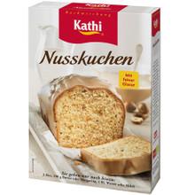 Kathi German Hazelnut Pound Cake with Nougat Glaze Baking Mix 15.8 oz