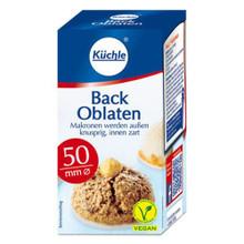 Kuechle Oblaten Round Baking Wafers 50mm 1.29 oz