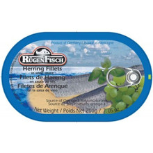 Rugenfisch Herring Fillets in White Wine Sauce