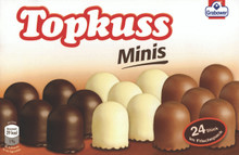 Topkuss Minis Chocolate Kisses in three varieties