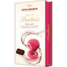 Schladerer Dark Chocolate Raspberry Brandy Pralines