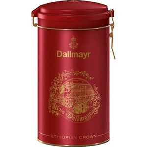 Dallmayr Ethiopian Crown Single Origin Coffee in Red Gift 17.6 oz
