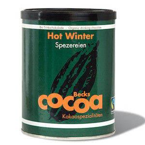 Beck's Hot Winter Organic Cocoa Powder with Mulled Wine Spices 8.8 oz