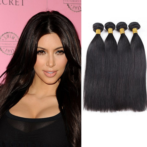 4 Bundles Straight Virgin Brazilian Hair