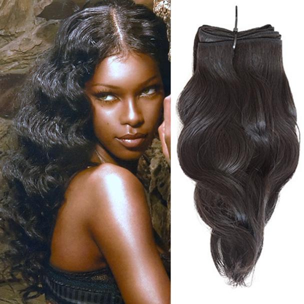 16 Inches Wavy Virgin Malaysian Hair