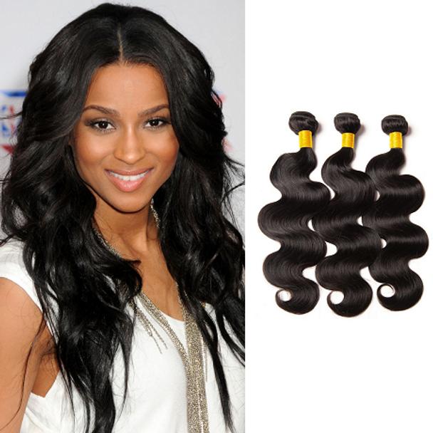 3 Bundles Body Wave Virgin Brazilian Hair
