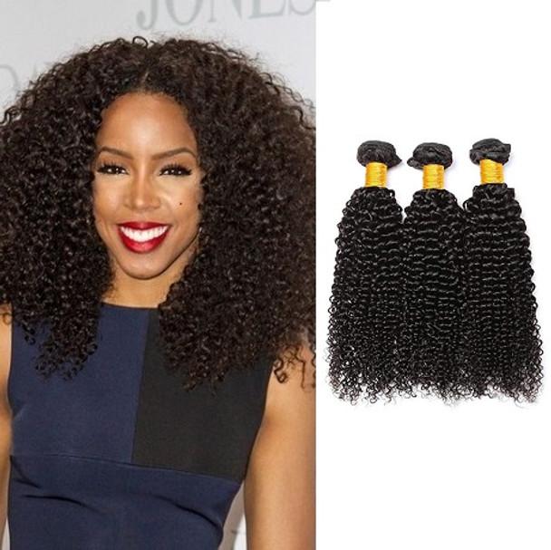 3 Bundles Kinky Curly Virgin Brazilian Hair